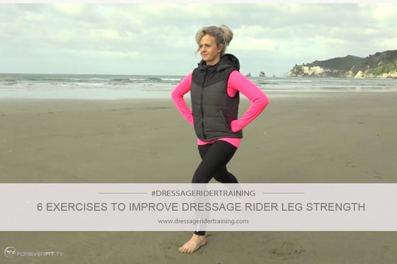 6 exercises to improve dressage rider leg strength