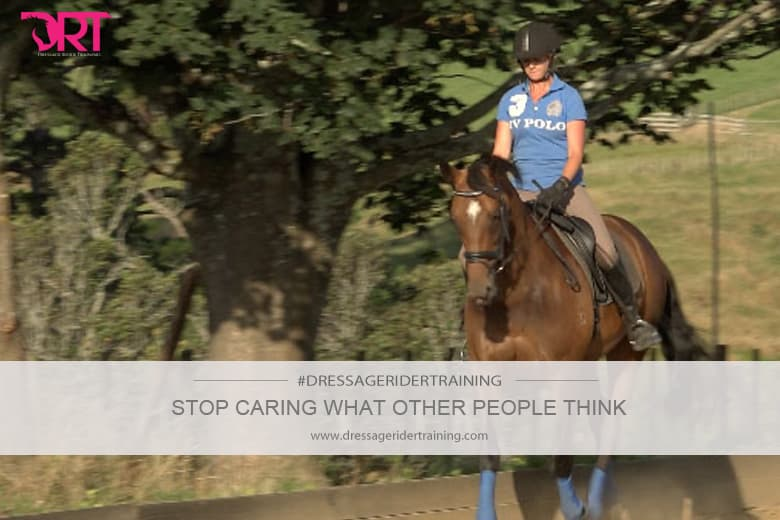 stop caring what other people think