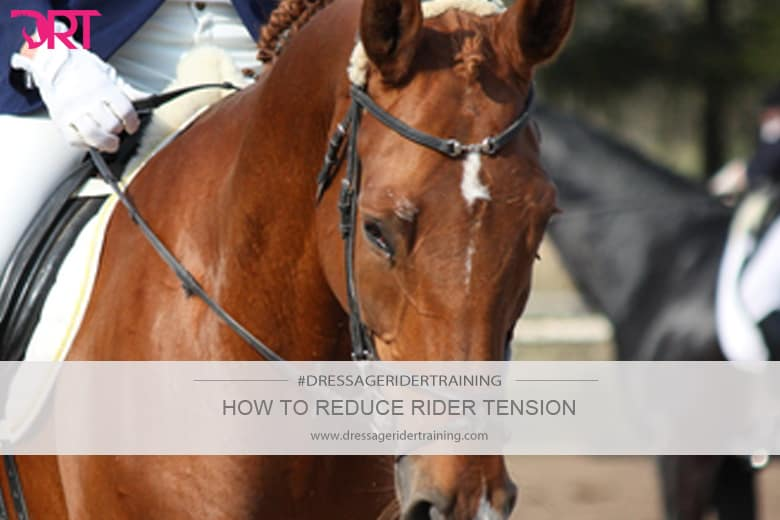 how to reduce rider tension