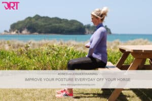 How to improve your dressage posture off your horse
