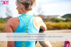 How to include exercise into your life when you are busy