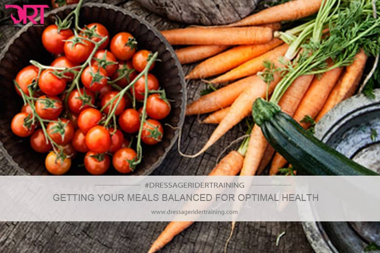 getting your meals balanced for optimal health
