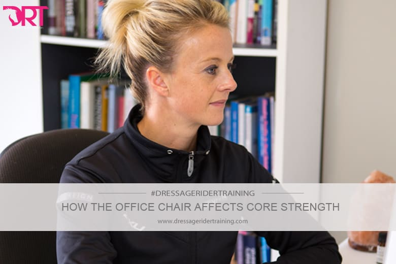 How the office chair affects core strength