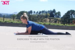 Exercises to help with toe position
