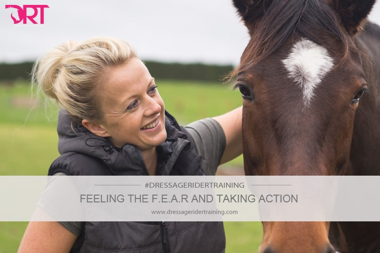 Feeling the fear and taking action