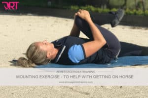 Mounting exercises to help with getting on horse