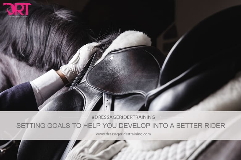 Setting goals to help your develop into a better rider