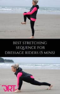 Stretches for dressage riders