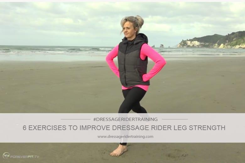 6 exercises to improve dressage rider leg strength