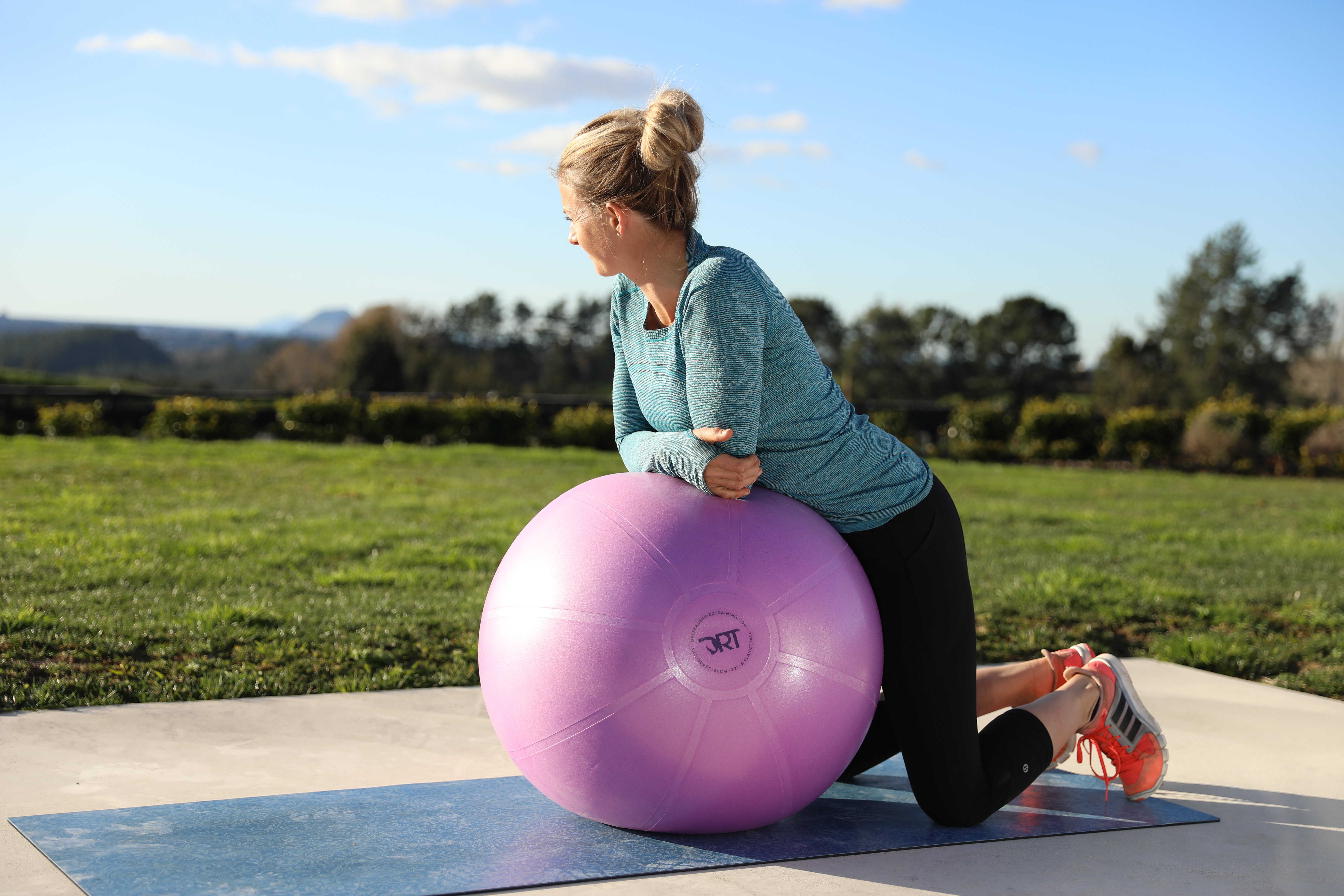 5 Swissball Moves To Improve Your Riding Posture