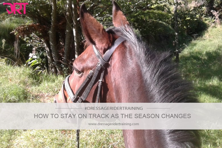 how to stay on track as the season changes