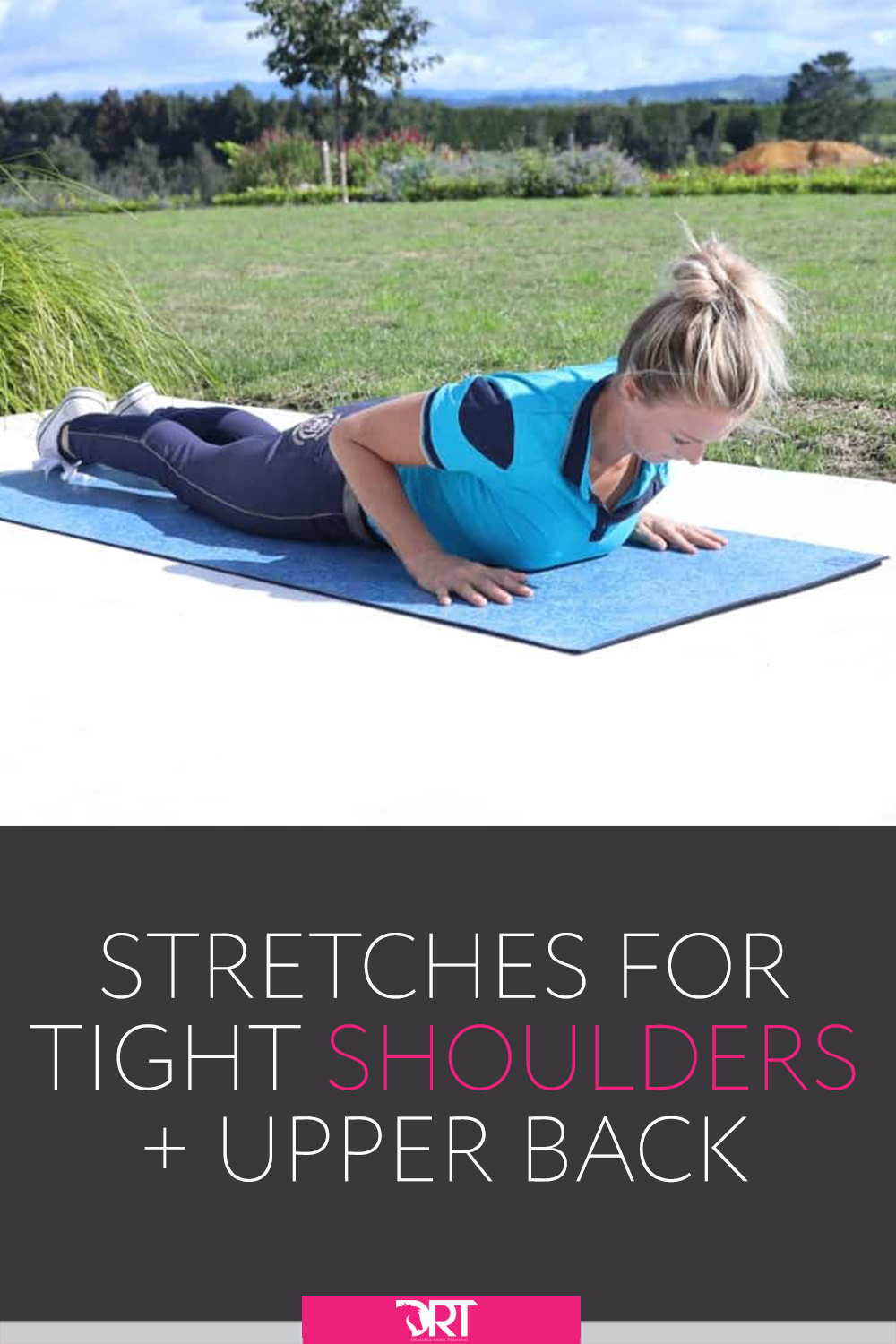 Stretches to help improve your upper body posture and allieviate tension. Including video demonstrating each exercise. #dressage #dressagerider #dressagetraining