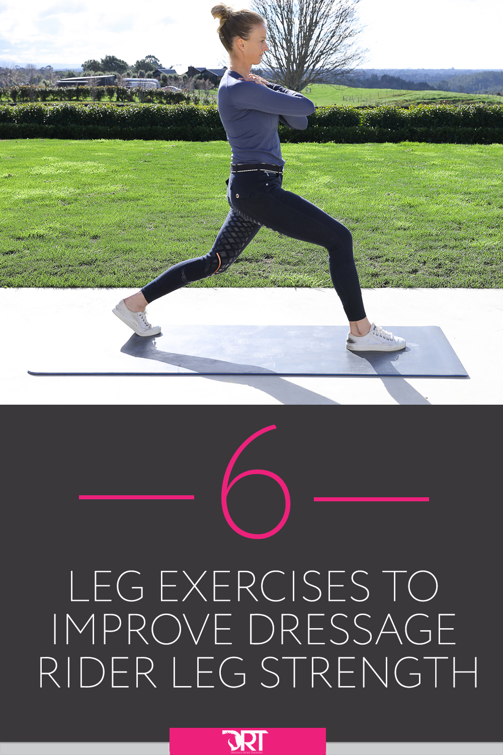 Dressage Rider Leg Strength 6 Video Exercises To Help You Improve