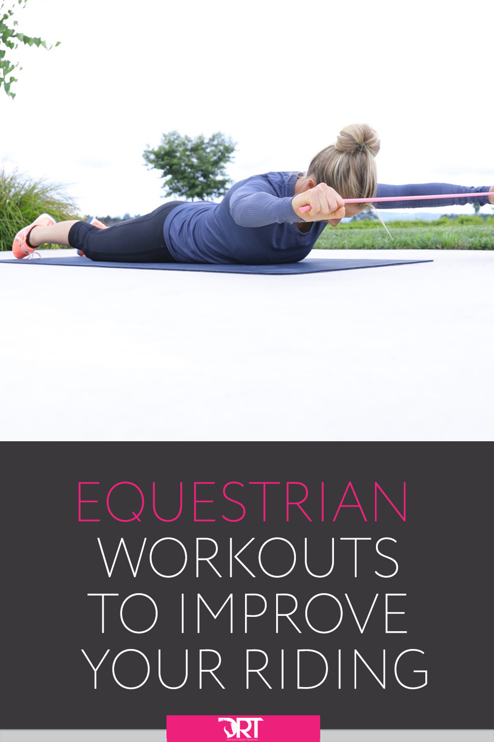 workouts specific to equestrians to help you feel more stable and secure in the saddle and prevent injury. #equestrian #equestrianfitness #equestrianrider