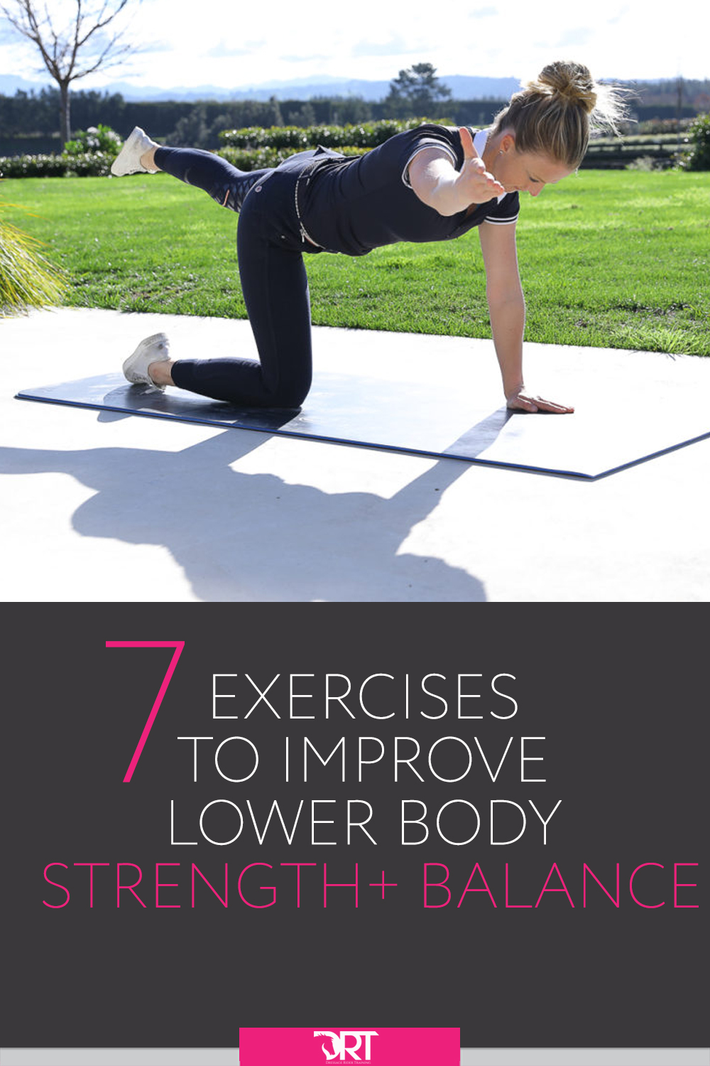 Here are 7 exercises to help improve you lower body strength and balance for dressage. #dressage #dressagerider #dressagetraining #dressageexercises